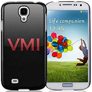 Fashionable And Unique Custom Designed With NCAA Big South Conference VMI Keydets 4 Protective Cell Phone Hardshell Cover Case For Samsung Galaxy S4 I9500 i337 M919 i545 r970 l720 Phone Case Black