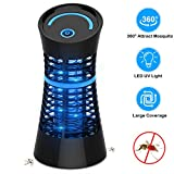 VIFLYKOO Insect Killer, Electric Insect Fly Zapper Bug Zapper Trap mosquito Lamp with UV light, No toxic chemicals, Effective for Reducing Flying Insects for Indoor Bedrooms and Gardens