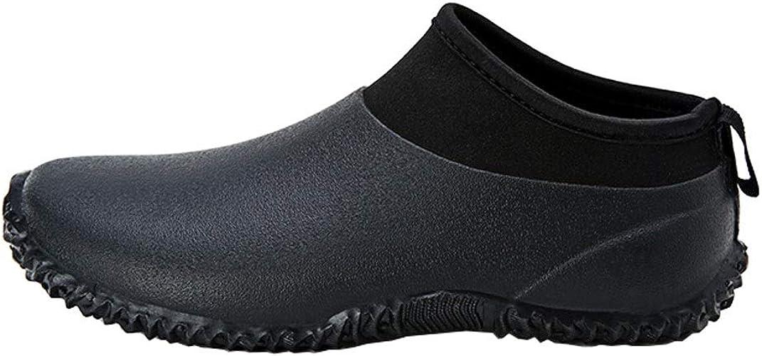 Yuxie Rain Boots Rubber Flat Shoes Non