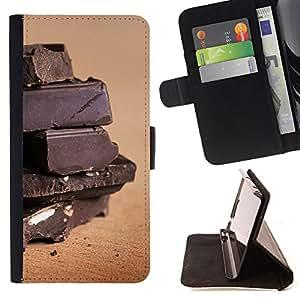 Dragon Case- Caja de la carpeta del caso en folio de cuero del tir¨®n de la cubierta protectora Shell FOR Apple Iphone 5C- Chocolate