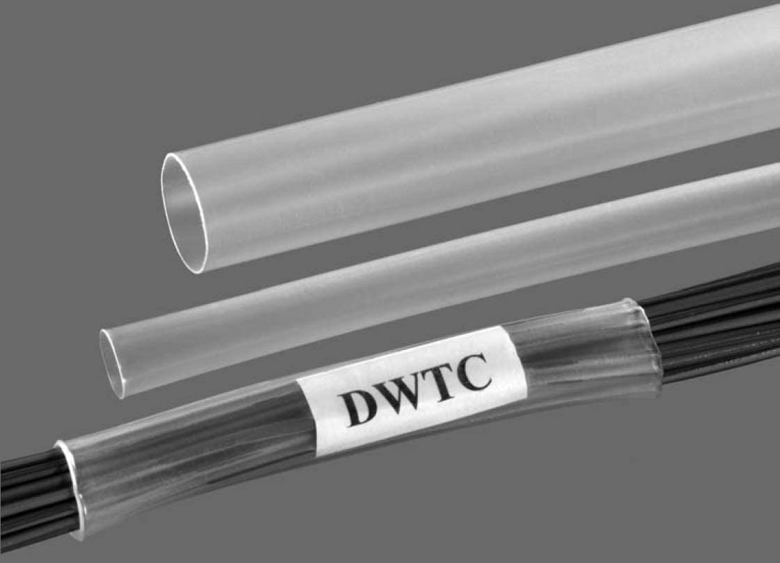 3//8 inch Heat Shrink Tubing Provides Electrical Insulation Protection Clear Shrinkable Chooice 10ft