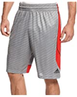 Adidas Fastbreak Wave Drawstring Shorts Greyscarlet Small