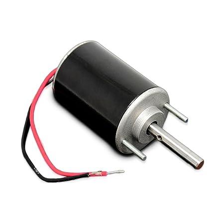 12V High Speed Reversible DC Motor 3000rpm 30W Diameter 51mm Length