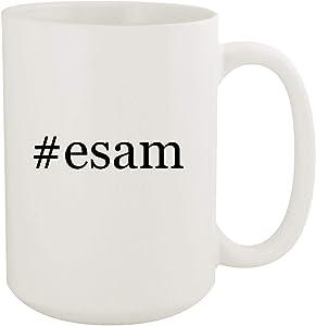 #esam - 15oz Hashtag White Ceramic Coffee Mug