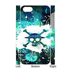 iphone 4,4S 3D Phone Case White One Piece F6571061