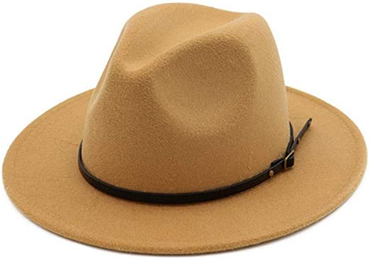 anyuq66qq Sombrero De Jazz Woolhattop para Mujer Gorras Redondas ...