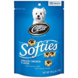 Cesar Softies Grilled Chicken Flavor Dog Treats (Pack Of Six 6.7-Ounce Pouches) For Sale