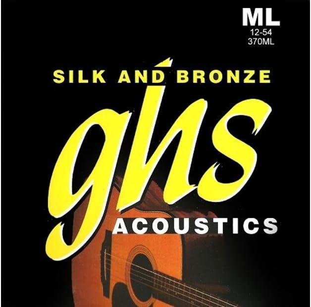 GHS SAB 370–12L Silk/bronce Light (de 12cuerdas)