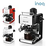 inoq Arden Espresso Coffee machine IA-CE1000R RED 240ml 4 Cups Milk FrotherCappuccino Latte