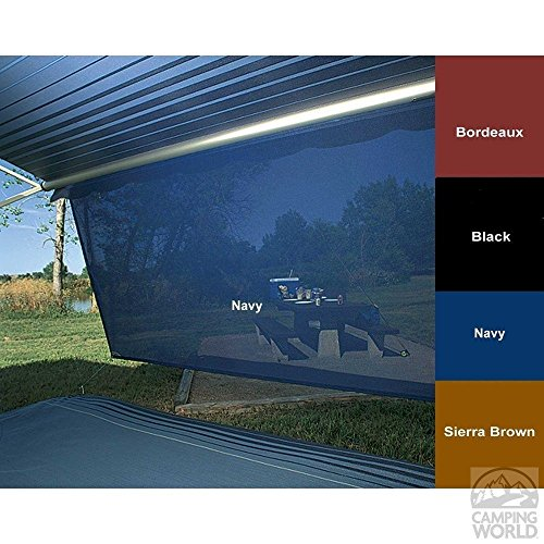 Sierra Brown Awning (Carefree of Colorado 82178202 Sierra Brown Sunblocker - 6' x 17')