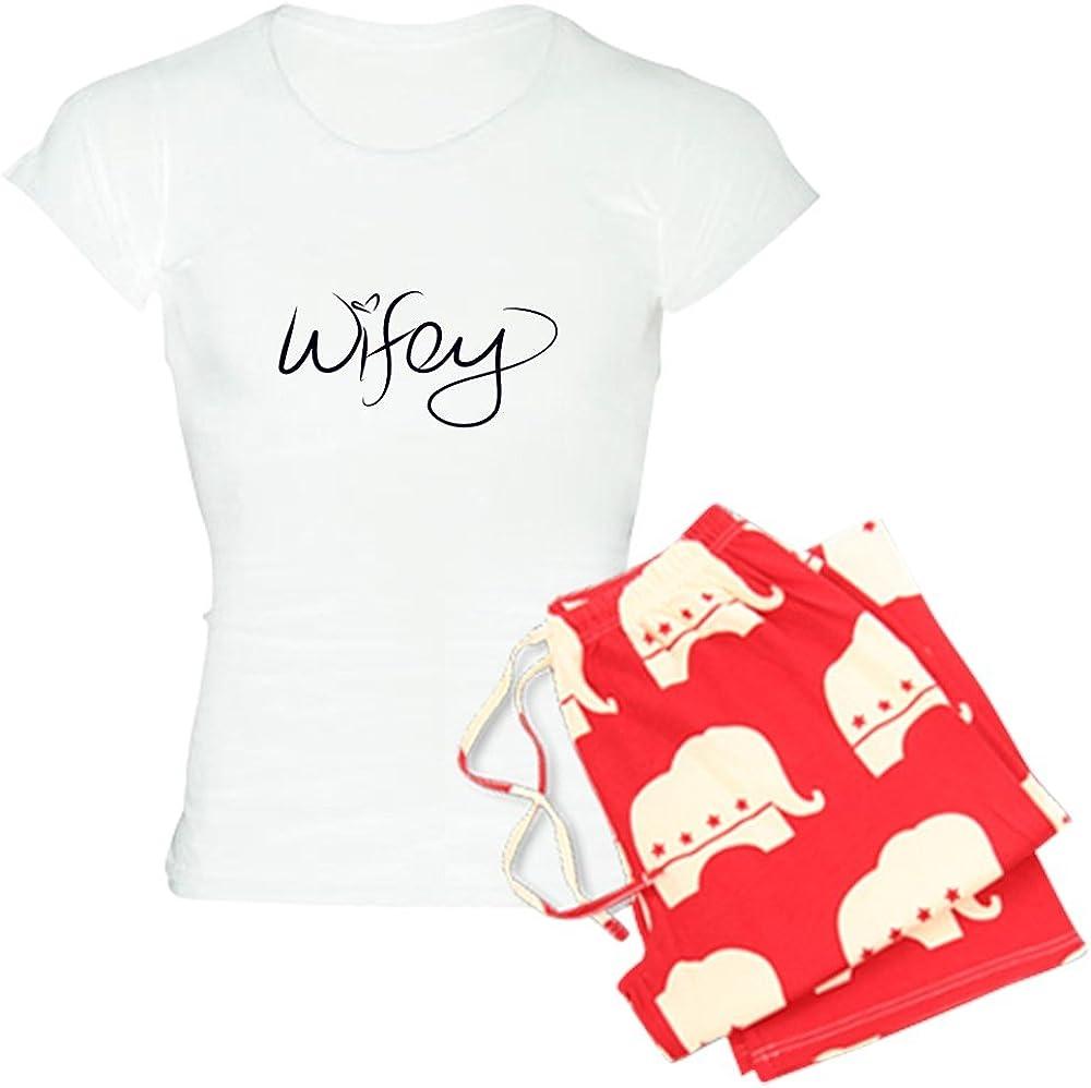 CafePress Wifey Pajamas Womens PJs