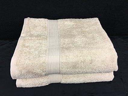 Lote de 2 grandes toallas de baño – 100 x 150 – Esponja de 600 G