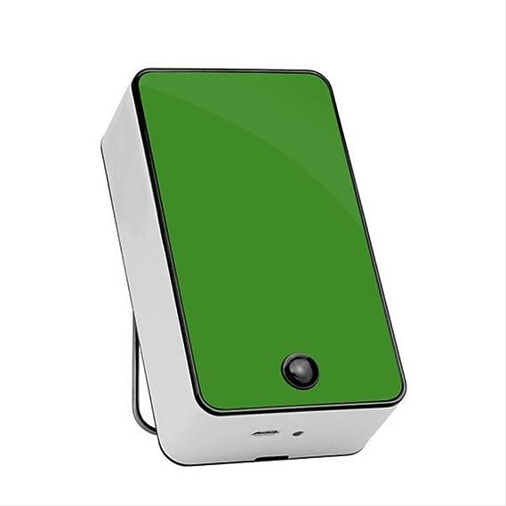 Ventilador Sin Aspas Mini Aire Acondicionado de Mano Ventilador PequeñO RefrigeracióN USB Ventilador Sin Aspas eléCtrico Recargable PortáTil Mudo: Amazon.es: Bricolaje y herramientas