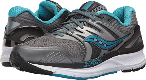 Saucony Women's Redeemer ISO 2 Running Shoe, Grey Blue, 9 Medium US