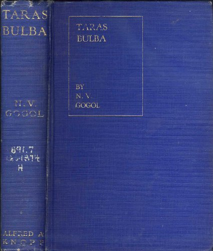 Taras Bulba: A Tale of the Cossacks