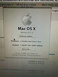 Apple 13-Inch MacBook T7200 2.0 GHz Intel Core 2 Duo Processor, White