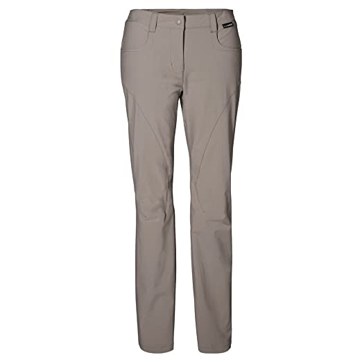 Womens Jack Wolfskin Walking Trousers Phantom | Jack