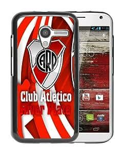 River Plate 1 Black Recommended Customized Design Motorola Moto X Case