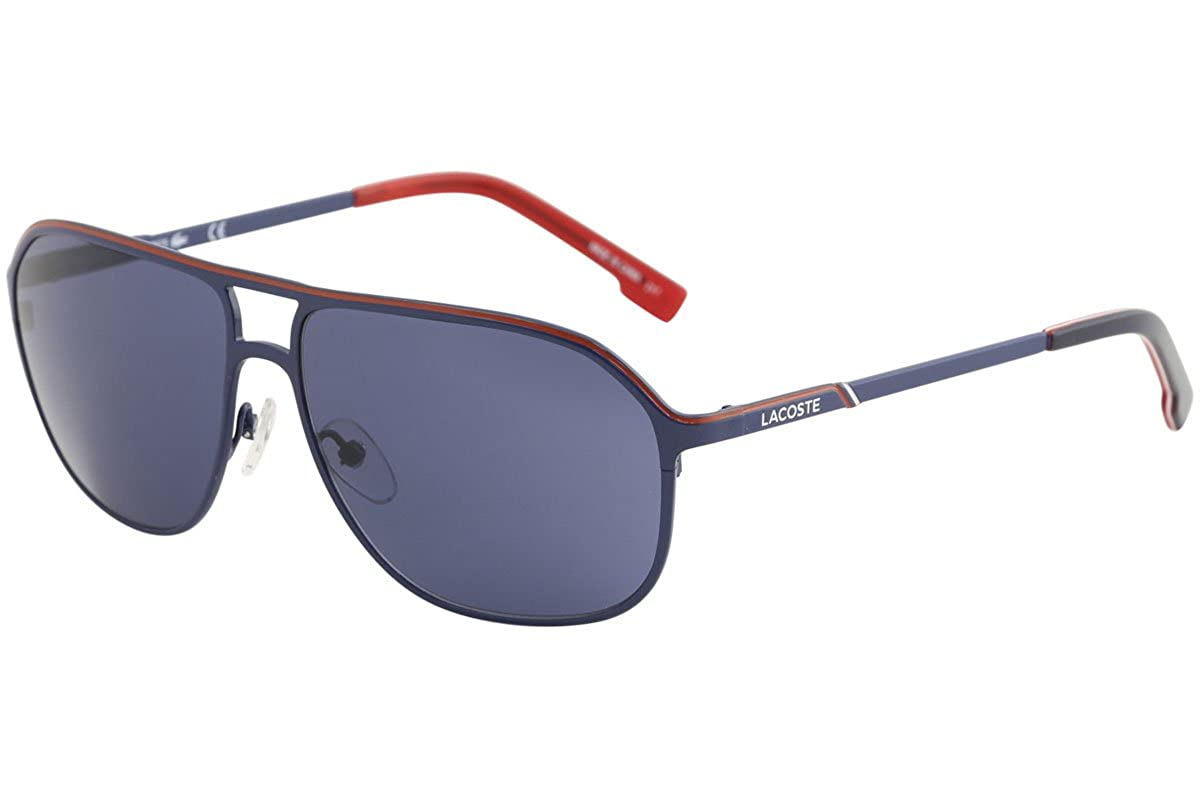 1a04a72302d4 Amazon.com  Sunglasses LACOSTE L 139 SB 414 SATIN BLUE  Clothing