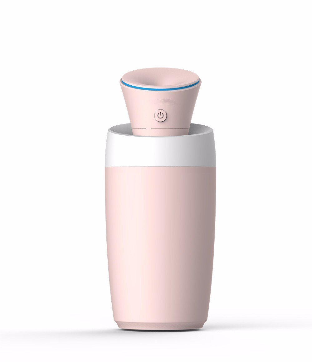 HOMEE Air humidifier lights home mute bedroom mini office car purification portable usb steamer by HOMEE