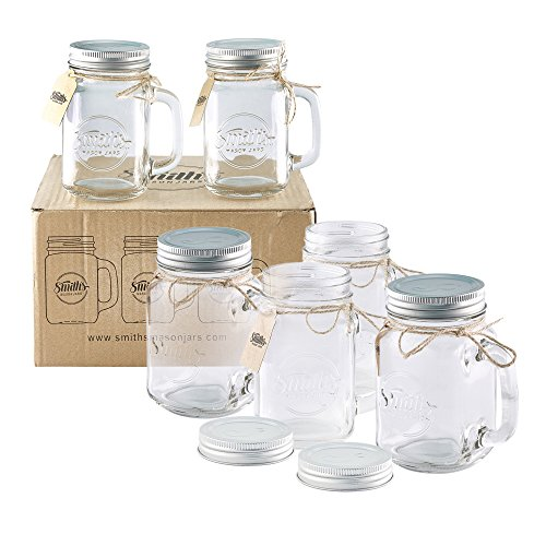 Smith's Mason Jars 6 x 16oz Mason Jar