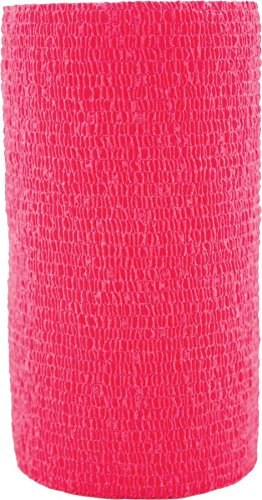 3M 721872 VETRAP Bandaging Tape Bulk Red, 4 Inchx5 yd