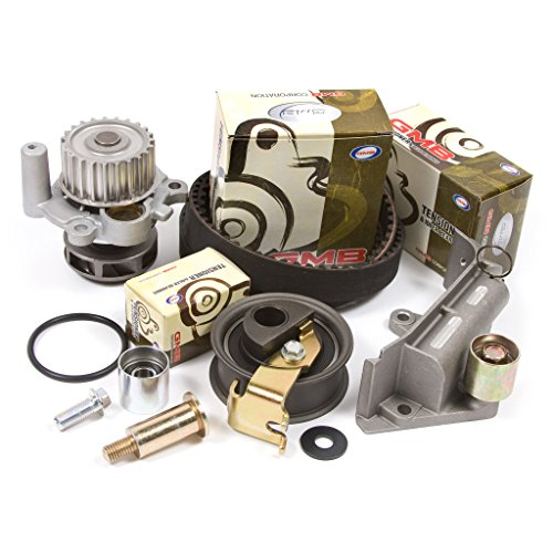 - Fits 01-06 Audi Volkswagen Turbo 1.8 DOHC 20V Timing Belt Kit w/Hydraulic Tensioner Water Pump
