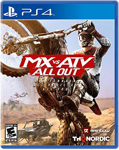 MX vs ATV All Out - PlayStation 4 (Best Ps4 Split Screen Multiplayer Games)