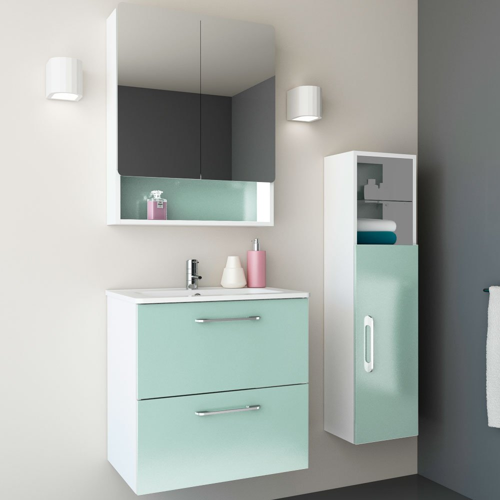 Amazon.com: Randalco 24\'\' Modern Bathroom FULL Vanity Cabinet Set ...