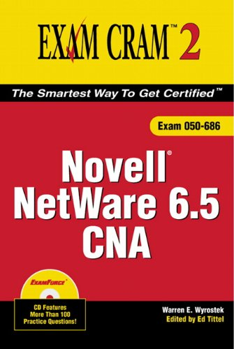 Novell Netware 6.5 CNA Exam Cram 2 by Brand: Pearson IT Certification
