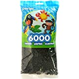 Perler Beads Black Bead Bag (6000 Count)