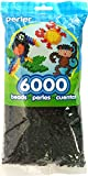 Perler Beads Black Bead Bag (6000 Count)