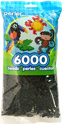Price comparison product image Perler Beads Black Bead Bag (6000 Count)