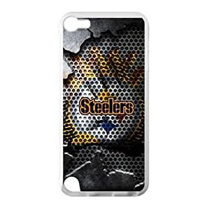 Caitin Pittsburgh Steelers Cases Cover Protection Hard Shell for IPod Touch 5 TPU