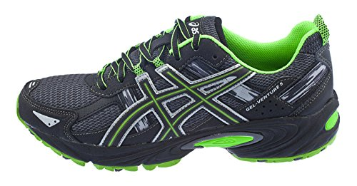 ASICS Men's Gel Venture 5 Running Shoe (8 D(M) US, Castle Rock/Black/Green)