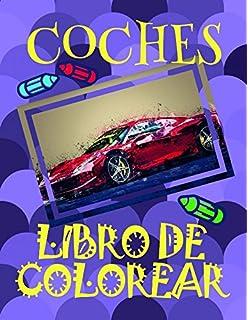 Libro de Colorear Coches ✎: Libro de Colorear Carros Colorear Niños 3-7 Años