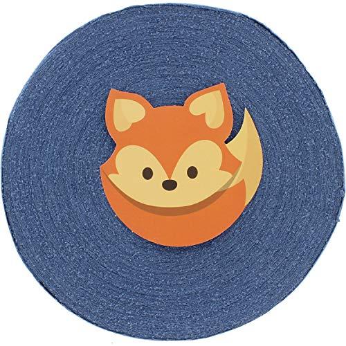 T-Shirt Yarn Lightweight Fabric Disc - Fettuccini Zpagetti Style Yarn Ball for DIY Crocheting, Sewing & Knitting - 3/4 lbs (350g) | 65 Yards (~60 Meter)