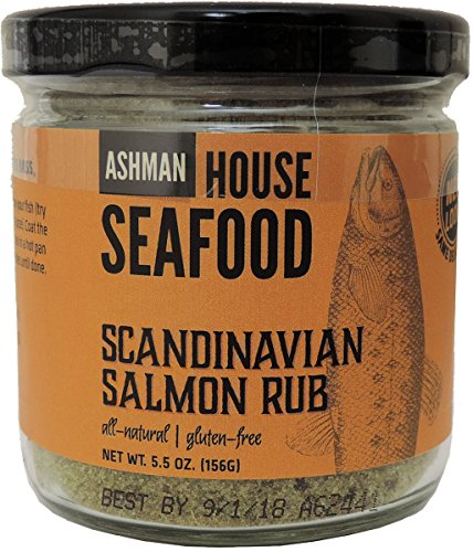 House Scandinavian Salmon Rub
