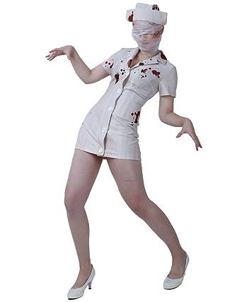 decd932da0dbb Miccostumes Women's Silent Hill Nurse Cosplay Costume, Multicolor, Small