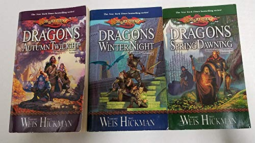 (Vol. 1-3 of the Dragonlance Chronicles (Set Includes: Dragons of Autumn Twilight, Dragons of Winter Night and Dragons of Spring Dawning))