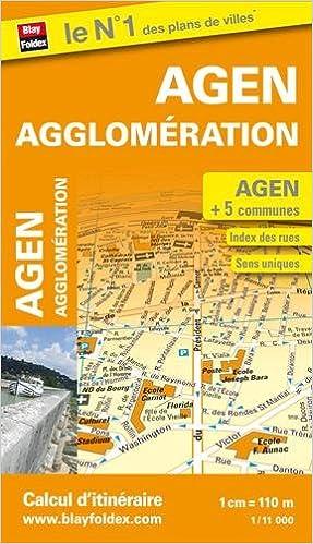Livre Plan d'Agen et de son agglomération pdf