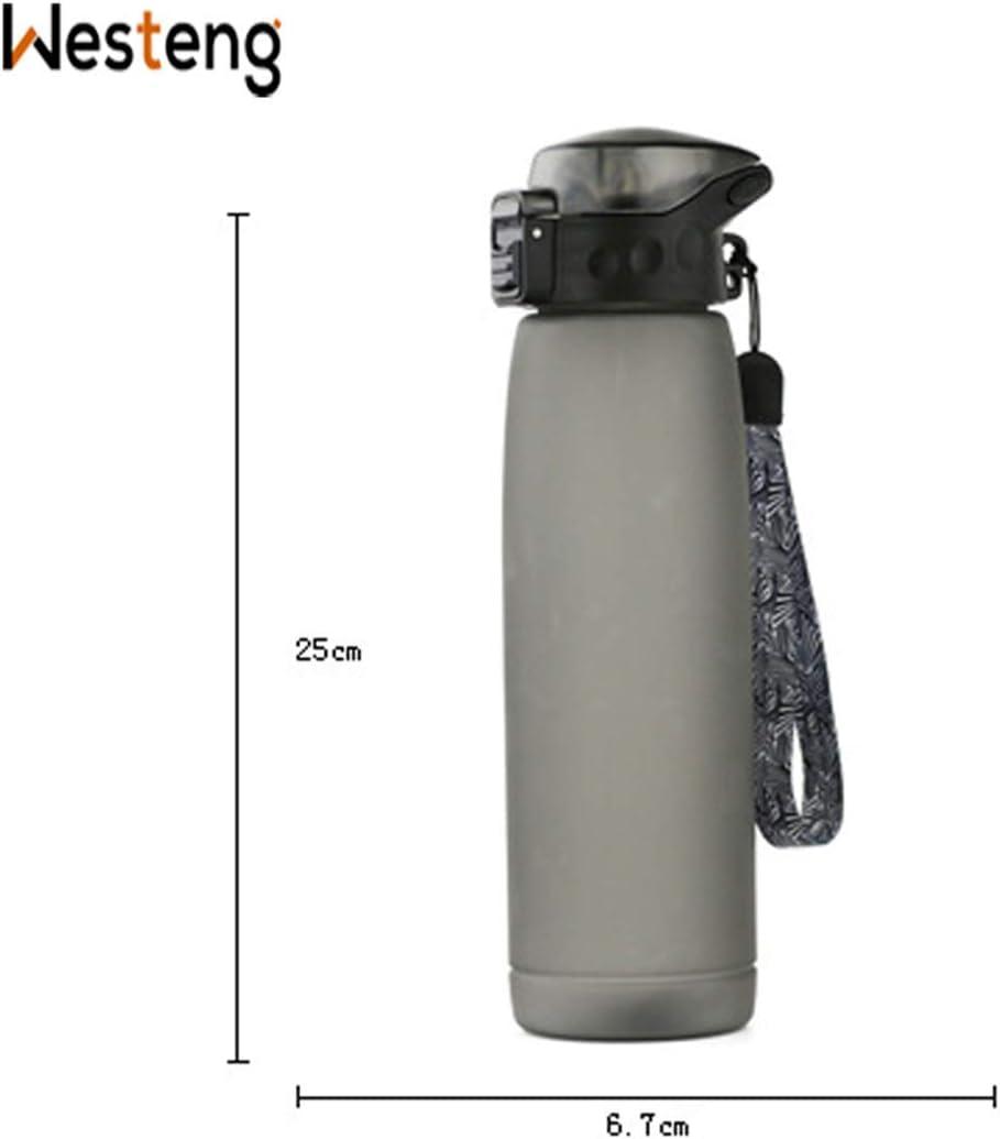 Sportflasche BPA-Frei Wasser Fahrrad Sport Wasserflasche Auslaufsicher Westeng Trinkflasche Wasser Bottle Schule