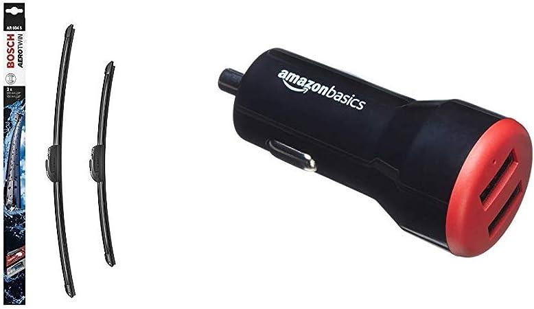 2 unidades, 600 mm y 450 mm Bosch Aerotwin AR604S Limpiaparabrisas