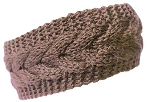 (KMystic Plain Braided Knit Headband)