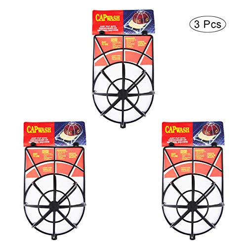 TOPHOUSE 3pcs Baseball Hat Cap Washer Frame/Washing Cage Hat Cleaner/Cleaning Protector for Washing Machine
