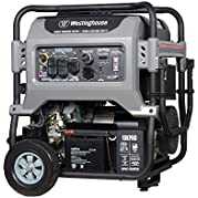 Westinghouse 10KPRO Gas Powered Portable Generator with Remote Electric Start - 10000 Running Watts and 12500...