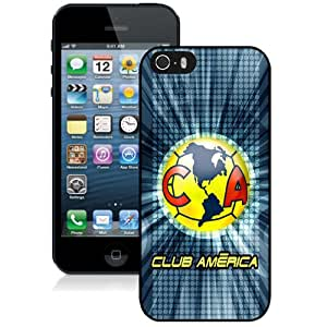 Unique DIY Designed Case For iPhone 5S With Soccer Club Club America 07 Football Logo Cell Phone Case