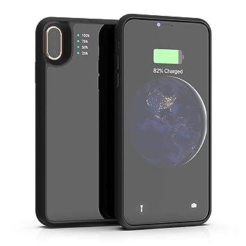 Amazon.com: OOOUSE - Funda con batería para iPhone Xs MAX ...
