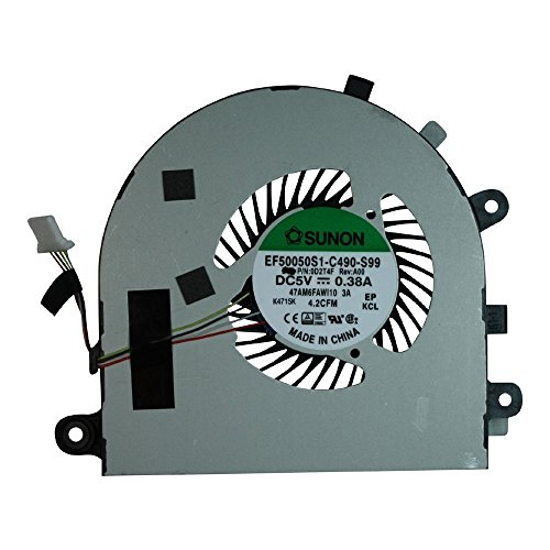 RJX6N Left Side Fan iiFix New Cooler Fan Replacement For Dell Inspiron 15 7559 CPU Cooling Fan
