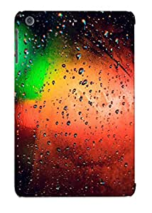 New Arrival Premium Ipad Mini/mini 2 Case Cover With Appearance (colorful Lights Behind The Wet Window )